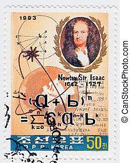úr, 1993, korea, természetes, alkimista, theologian, :, fizikus, newton, -, nagy, filozófus, csillagász, isaac, cirka, matematikus, angol