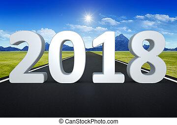 út, horizont, 2018