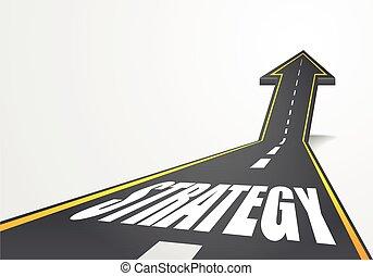 út, stratégia