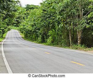 út, vidéki táj
