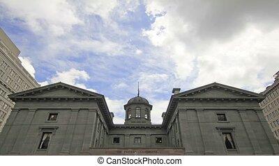 úttörő, portland, törvényszéki épület, oregon