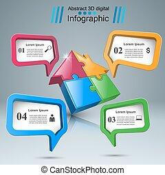 ügy, épület, infographic., rejtvény, icon.