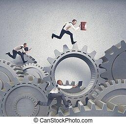 ügy fogalom, rendszer, verseny