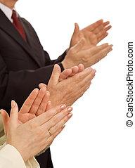 ügy, -, jutalmazó, becsül, előadás, respektál