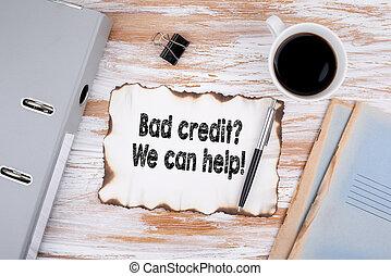 ügy, mi, konzerv, hitel, help., rossz, fogalom