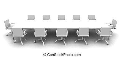ülésterem, 2, fehér