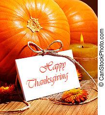 ünnep, hálaadás, kártya