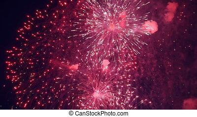 ünnep, tűzijáték