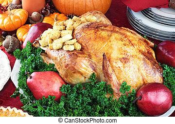 ünnep, vacsora, pulyka, 3585