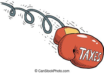 ütés, adót kiszab