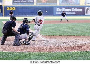 ütőjátékos, baseball, right-handed