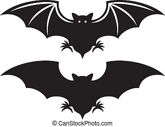üt, árnykép, (flight, bat)