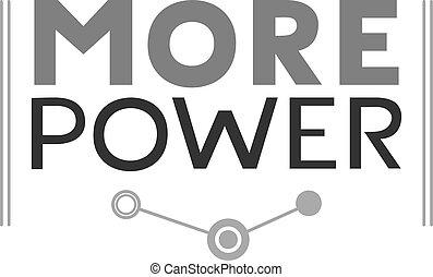 üzenet, több, erő, jelkép