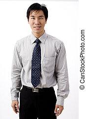 üzletember, ázsiai