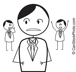 üzletember, konfliktus