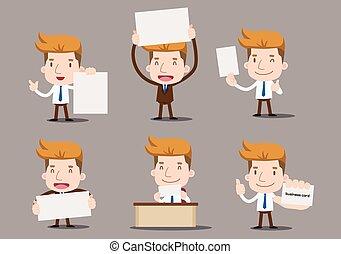 üzletember, -, sorozat, állhatatos, tiszta