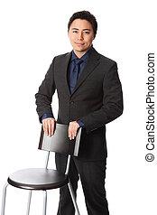 üzletember, szék