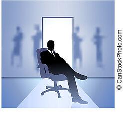 üzletember, végrehajtó