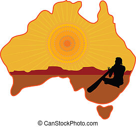 őslakó, ausztrália