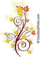 ősz, örvény