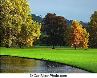 ősz, anglia