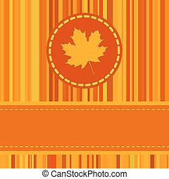 ősz, csinos, eps, frame., 8