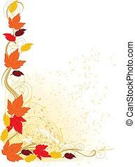 ősz, határ