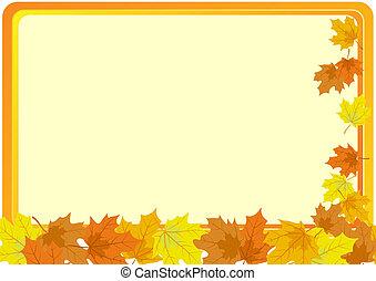 ősz kilépő, bukott