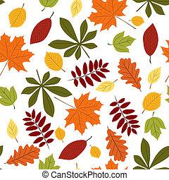 ősz kilépő, seamless