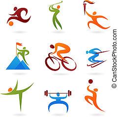 -4, sport, gyűjtés, ikon
