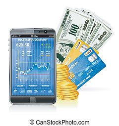 -, anyagi fogalom, csinál, pénz, internet