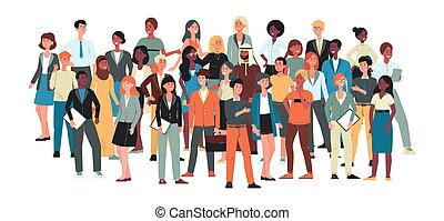 -, együtt., emberek, tolong, nagy, multicultural, álló, közösség