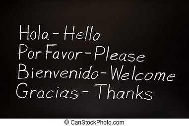 -eik, angol, translations, szavak, spanyol