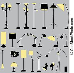 1-2, lámpa, gyűjtés