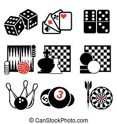 1, játék, rész, ikonok