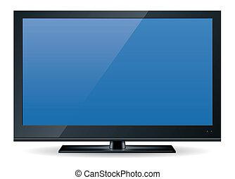 1, televíziókészülék, hd