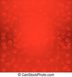 10., eps, háttér., vektor, karácsony, piros