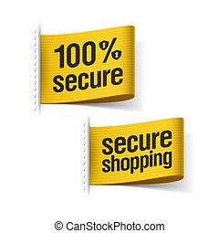 100%, biztos, bevásárlás