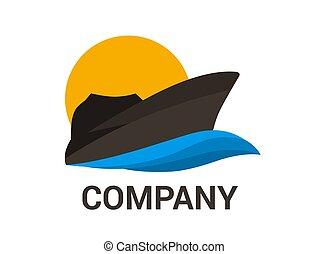 2, hajó, fekete