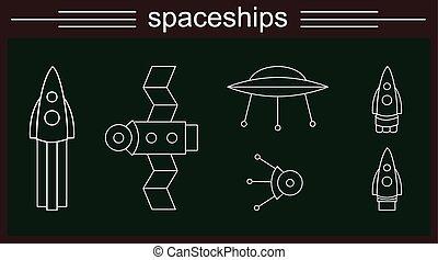 2, spaceships