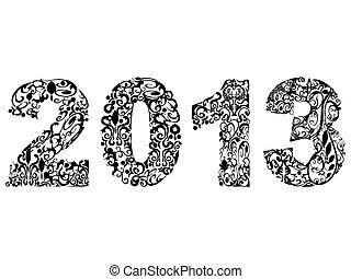 2013, tervezés, virágos