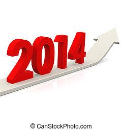 2014, feláll nyílvesszö