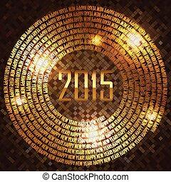 2015, vektor, háttér