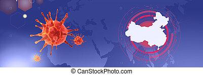 2019-ncov., új, 3, coronavirus, ábra