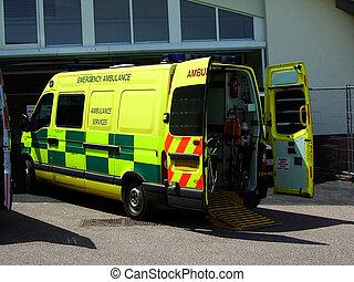 3, mentőautó