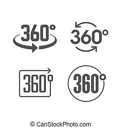 360, kilátás, fok