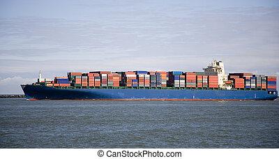 4, hajó, rakomány