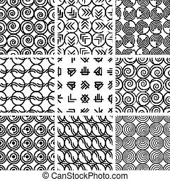 4., példa, geometriai, állhatatos, seamless