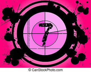 7, film, -, rózsaszínű, visszaszámlálás