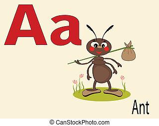 abc, állat